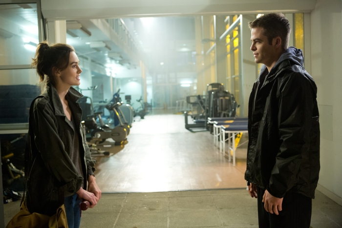 Typical stuff: boy meets girl, boy gets girl involved in top secret mission...
